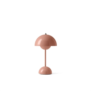 &Tradition Flowerpot VP9 Table Lamp Portable Beige Red