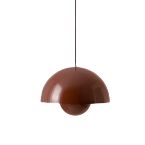 &tradition Flowerpot Pendant VP7 Dark Red