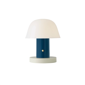 &tradition Setago JH27 Table Lamp White & Blue