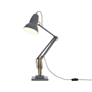 Anglepoise Original 1227™ Brass Table Lamp Elephant Grey