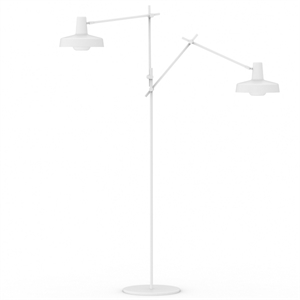 Grupa Products Arigato Double Floor Lamp White
