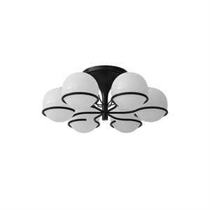 Astep Model 2042/6 Ceiling Light Black