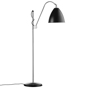 Bestlite BL3M Floor Lamp Black & Chrome