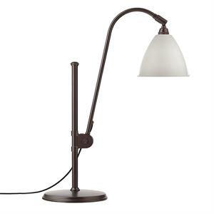 Bestlite BL1 Table lamp Black Brass & White