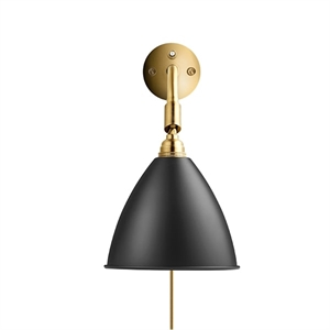 Bestlite BL7 Wall Lamp Black & Brass