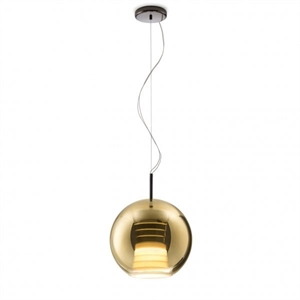 Fabbian Medium Pendant Beluga Royal D57