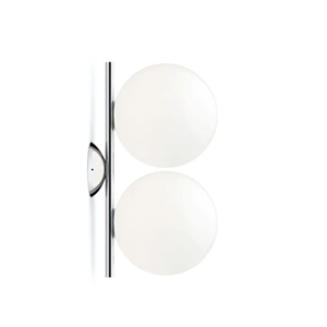 Flos IC C/W1 Double Wall Lamp Chrome
