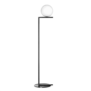Flos IC F1 Floor Lamp Matt Black