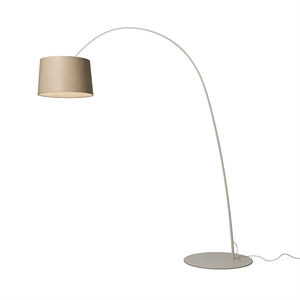 Foscarini Twiggy Lattiavalaisin My Light Grey & Wood