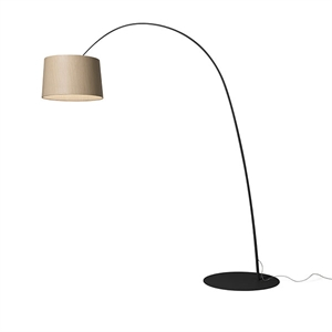 Foscarini Twiggy Lattiavalaisin My Light Black & Wood