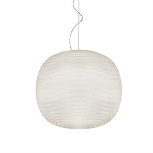 Foscarini Gem Pendant White