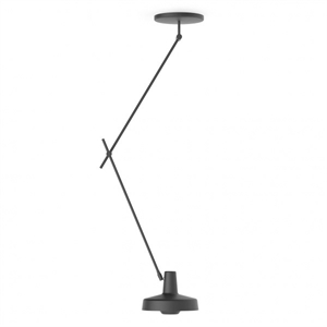 Grupa Products Arigato Ceiling Lamp Long Black