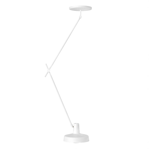 Grupa Products Arigato Ceiling Lamp Long White