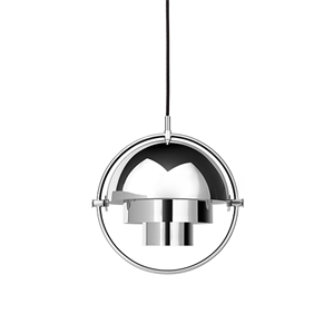 GUBI Multi-Lite Pendant Small Chrome