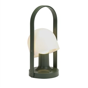 Marset FollowMe Green Table Lamp