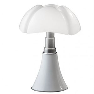 Martinelli Luce Pipistrello Table Lamp 1965 White
