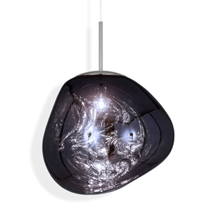 Tom Dixon Melt Pendant Smoke-coloured Big