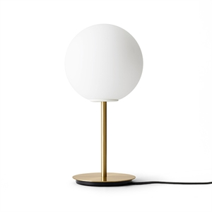 MENU TR Table Lamp Brushed Brass with Matt Opal Bulb
