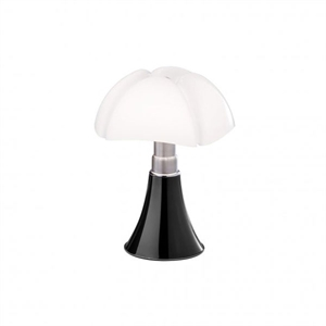 Martinelli Luce Mini Pipistrello 1965 Table Lamp Dark Brown