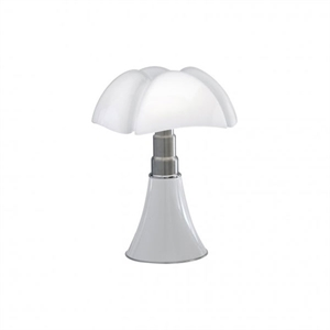 Martinelli Luce Mini Pipistrello 1965 Table Lamp White