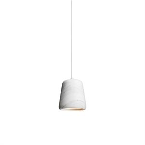 NEW WORKS Material Pendant White Marble