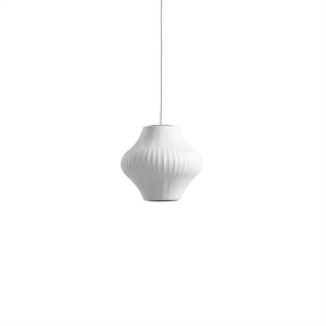 HAY Nelson Pear Bubble Pendant Small White