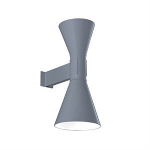Nemo Applique de Marseille Wall Light Washed White/Matt Grey