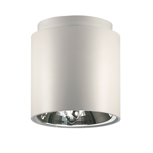 Nemo Cilindro Ceiling Light White