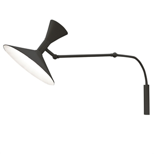 Nemo Lampe de Marseille Mini Wall Light Black