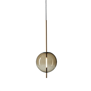 Pholc Kandinsky 30 Pendant Smoked Brown Glass & Brass
