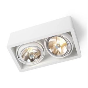 Trizo 21 R111 UP Spot & Ceiling lamp White