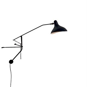 Schottlander Mantis BS2 Mini Black Wall Lamp