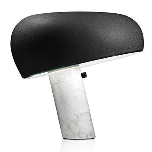 Flos Snoopy Table Lamp Mat Black 50 years Annivesary Limited Edition