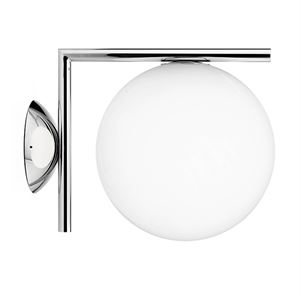 Flos IC C/W 2 Wall Lamp Chrome