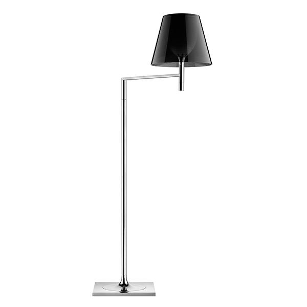 Flos KTribe F1 Floor Lamp Fumé/Smoke-coloured