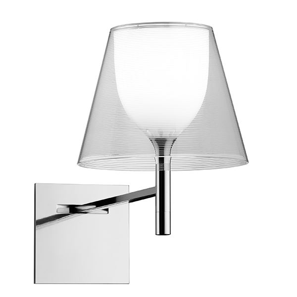 Flos KTribe W Wall Lamp Transparent
