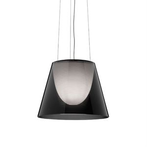 Flos KTribe S2 ECO Pendant Fumé/Smoke-coloured