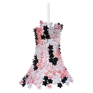 Kartell Bloom Pendant Pink/Black
