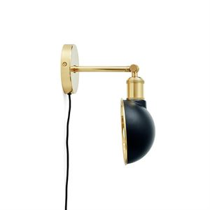 MENU Walker  Wall/Ceiling Lamp Brass & Black Kort