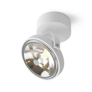 Trizo 21 PIN-UP 1 Spot & Ceiling lamp White
