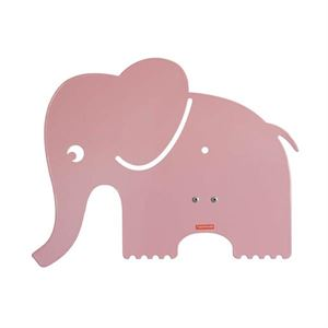 roommate Elephant Silhouette Wall lamp Rose