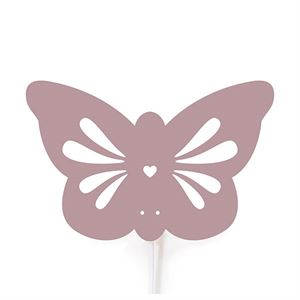 roommate Butterfly  Silhouette Wall lamp Rose