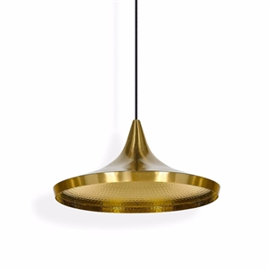 Tom Dixon Beat Pendant Wide Brass