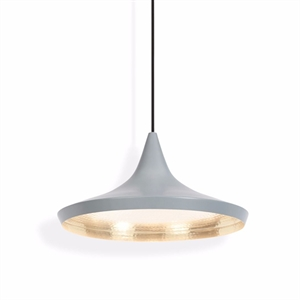 Tom Dixon Beat Pendant Wide Grey