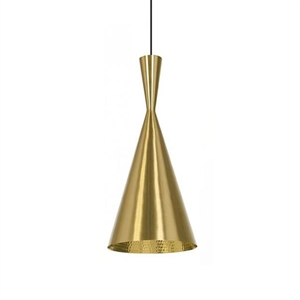 Tom Dixon Beat Pendant Tall Brass