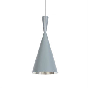 Tom Dixon Beat Pendant Tall Grey