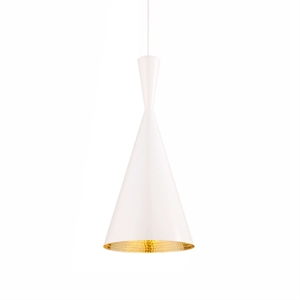 Tom Dixon Beat Pendant Tall White