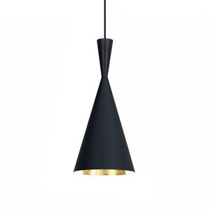 Tom Dixon Beat Pendant Tall Black