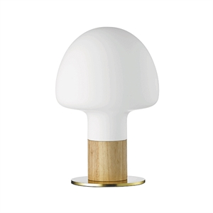 WATT A LAMP Mush Table Lamp Opal White