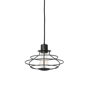 WATT A LAMP Radio Pendant Small Dark Grey
